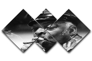 Count Basie 4 Square Multi Panel Canvas - Canvas Art Rocks - 1