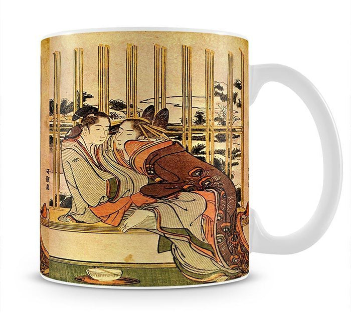 Couples by Hokusai Mug