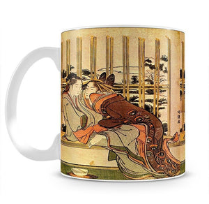 Couples by Hokusai Mug - Canvas Art Rocks - 2