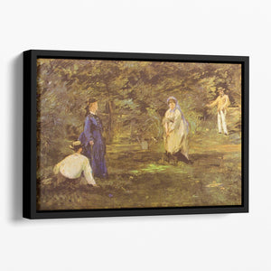 Croquet Party by Manet Floating Framed Canvas