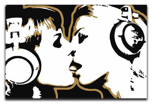 DJ Girls Pop Art Canvas Print or Poster  - Canvas Art Rocks - 1