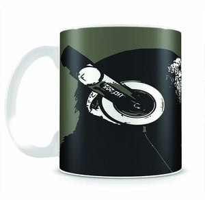 DJ Monkey Headphones Mug - Canvas Art Rocks - 2
