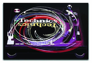 DJ Technics Spin Canvas Print or Poster  - Canvas Art Rocks - 1