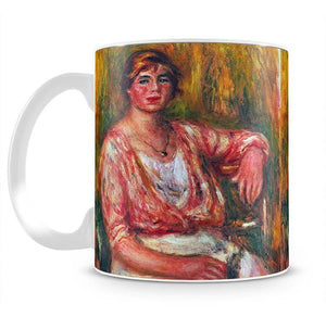 Dairymaid by Renoir Mug - Canvas Art Rocks - 2