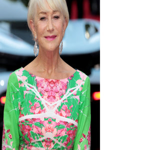 Dame Helen Mirren Floating Framed Canvas - Canvas Art Rocks - 2