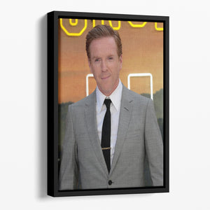 Damian Lewis Once Upon A Time In Hollywood Premiere UK Floating Framed Canvas - Canvas Art Rocks - 1
