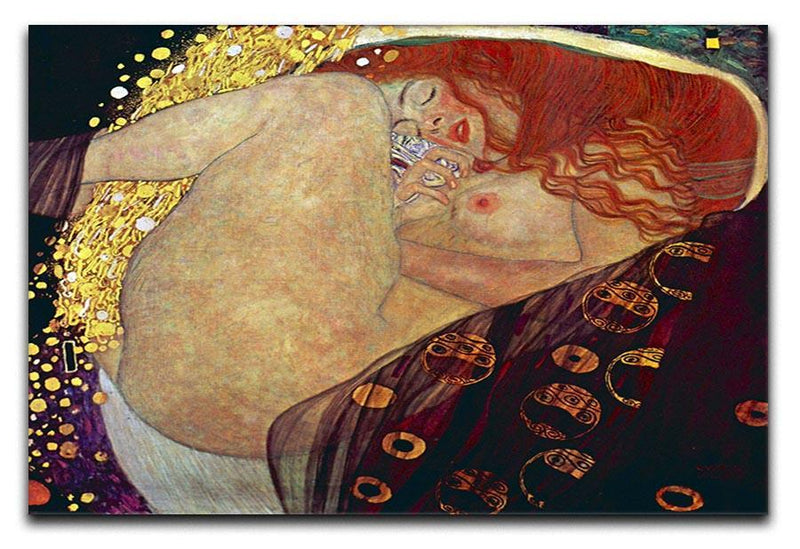 Danae by Klimt Canvas Print or Poster  - Canvas Art Rocks - 1