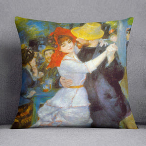 Dance at Bougival by Renoir Throw Pillow