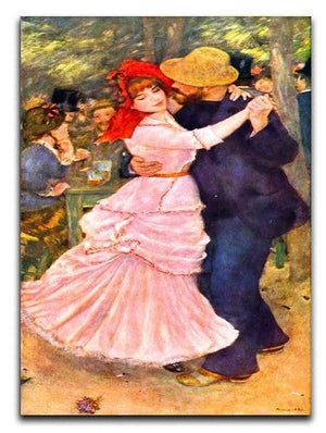 Dance in Bougival by Renoir Canvas Print or Poster  - Canvas Art Rocks - 1