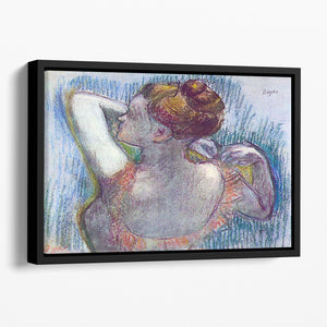Dancer by Degas Floating Framed Canvas