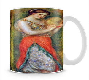 Dancer with tamborine by Renoir Mug - Canvas Art Rocks - 1