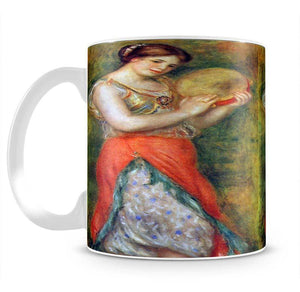 Dancer with tamborine by Renoir Mug - Canvas Art Rocks - 2