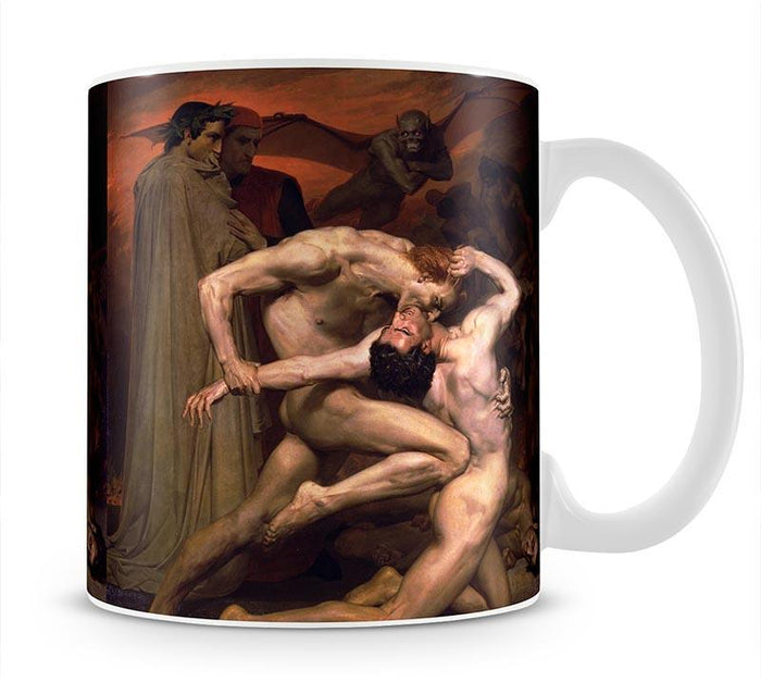 Dante And Virgil In Hell By Bouguereau Mug