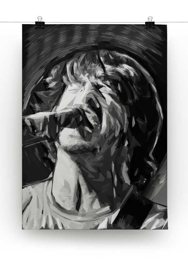 The Foo Fighters' Dave Grohl Print - Canvas Art Rocks - 3