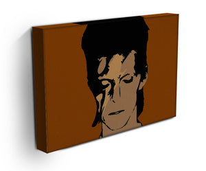 David Bowie Ziggy Stardust Print - Canvas Art Rocks - 3
