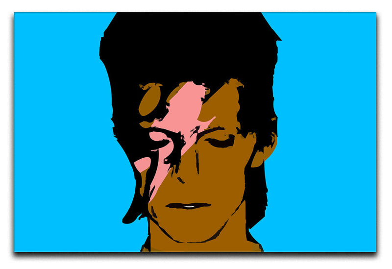 David Bowie Ziggy Stardust Print - Canvas Art Rocks - 1