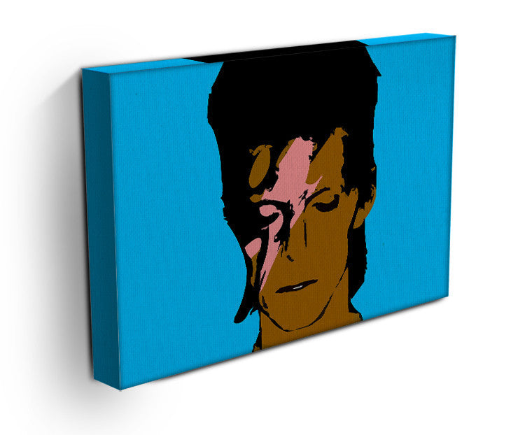 David Bowie Ziggy Stardust Print - Canvas Art Rocks - 5