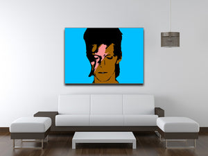 David Bowie Ziggy Stardust Print - Canvas Art Rocks - 6