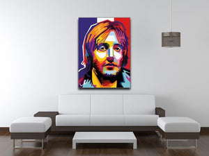 David Guetta Pop Art Canvas Print or Poster - Canvas Art Rocks
