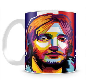 David Guetta Pop Art Mug - Canvas Art Rocks - 2
