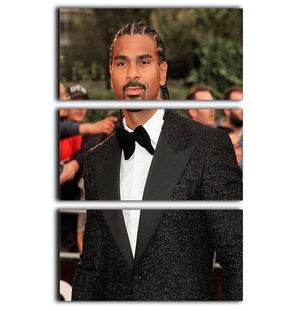 David Haye 3 Split Panel Canvas Print - Canvas Art Rocks - 1