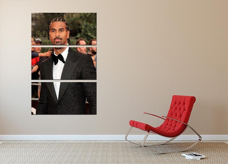 David Haye 3 Split Panel Canvas Print - Canvas Art Rocks - 2
