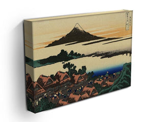 Dawn at Isawa in the Kai province by Hokusai Canvas Print or Poster - Canvas Art Rocks - 3