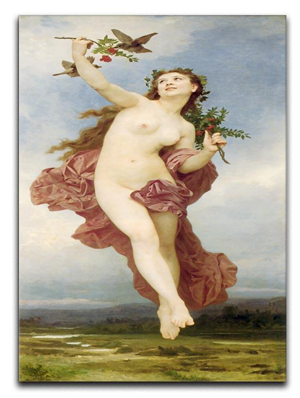 Day By Bouguereau Canvas Print or Poster  - Canvas Art Rocks - 1
