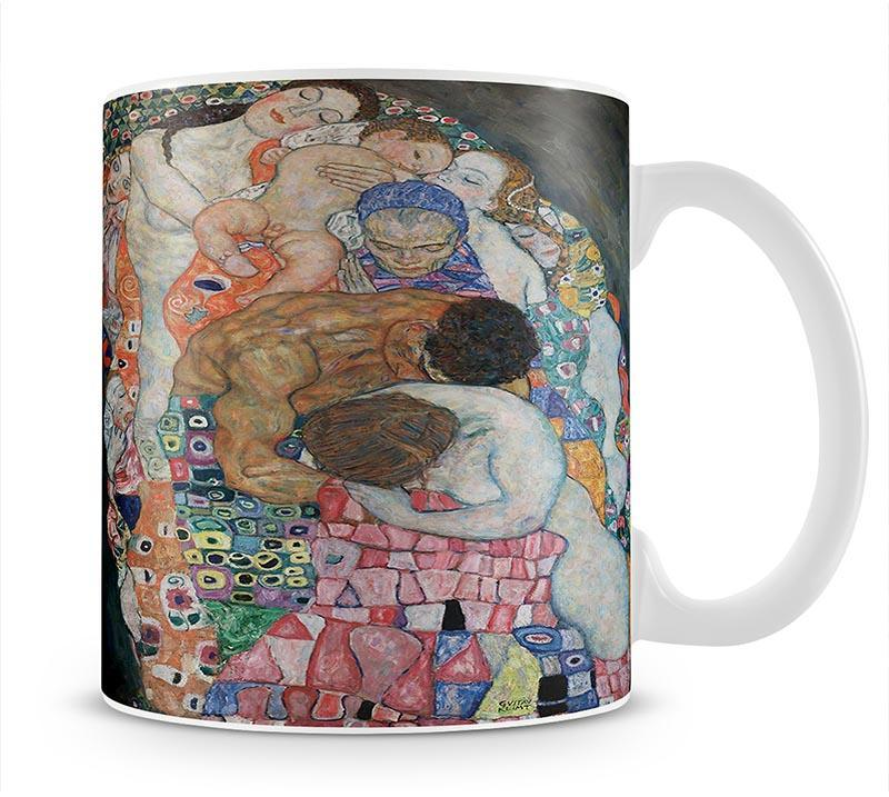 Death and Life by Klimt 2 Mug - Canvas Art Rocks - 1