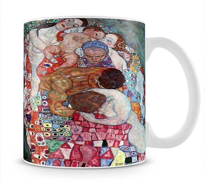Death and Life by Klimt Mug