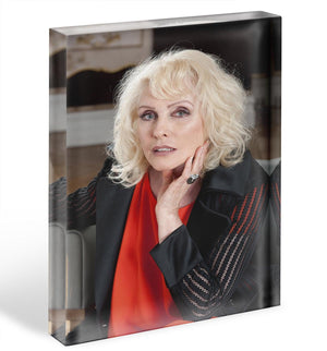 Debbie Harry in 2014 Acrylic Block - Canvas Art Rocks - 1