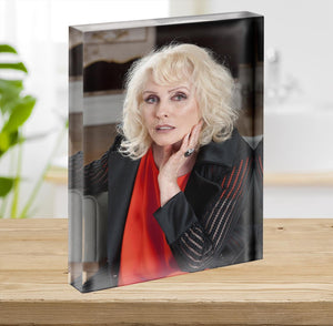 Debbie Harry in 2014 Acrylic Block - Canvas Art Rocks - 2
