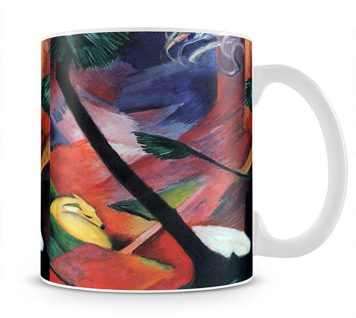 Deer in the forest II by Franz Marc Mug