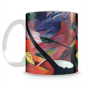 Deer in the forest II by Franz Marc Mug - Canvas Art Rocks - 2