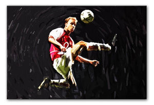 Dennis Bergkamp Print - Canvas Art Rocks - 1
