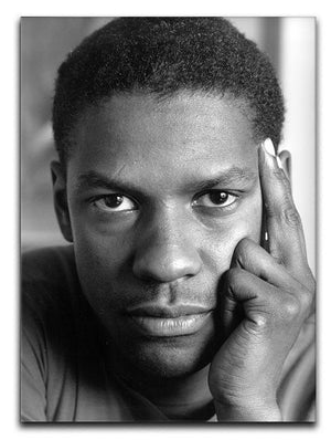 Denzel Washington Canvas Print or Poster  - Canvas Art Rocks - 1