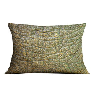 Dinosaur Skin Texture Cushion - Canvas Art Rocks - 4