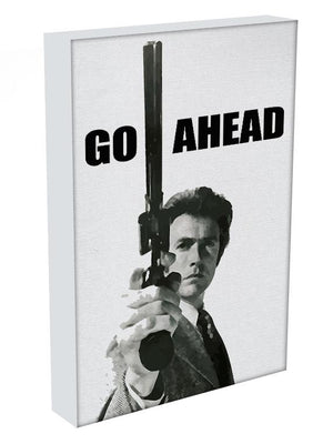 Dirty Harry Go Ahead Canvas Print & Poster - US Canvas Art Rocks