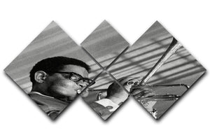 Dizzy Gillespie 4 Square Multi Panel Canvas - Canvas Art Rocks - 1
