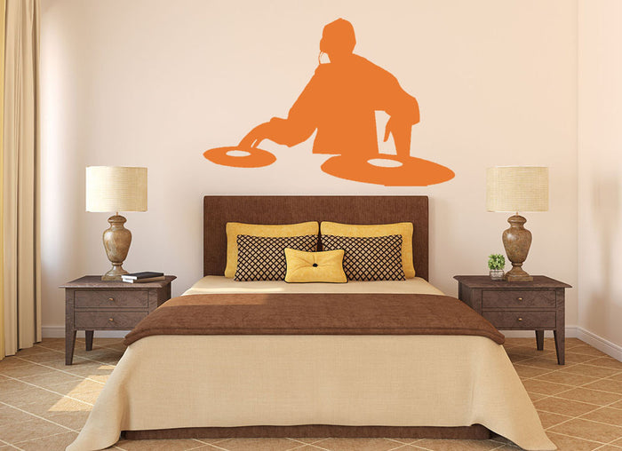 DJ Deck Wall Sticker