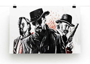 Django Unchained Print - Canvas Art Rocks - 2