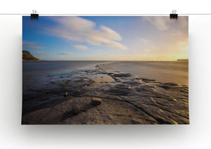 Dorset Beach Print - Canvas Art Rocks - 2