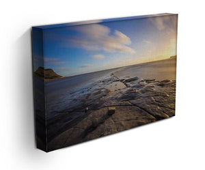 Dorset Beach Print - Canvas Art Rocks - 3