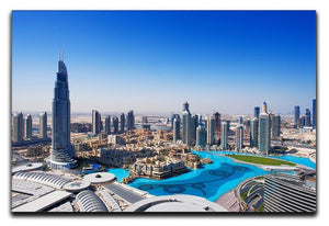 Downtown Dubai Canvas Print or Poster  - Canvas Art Rocks - 1