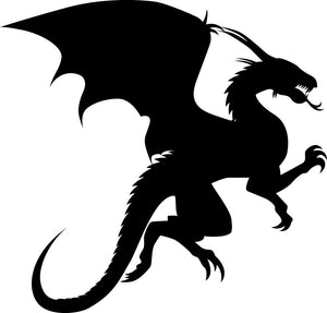 Dragon Wall Decal - Canvas Art Rocks - 2
