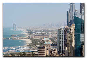 Dubai City Print - Canvas Art Rocks - 1