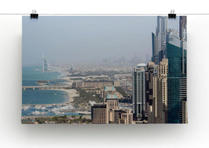Dubai City Print - Canvas Art Rocks - 2