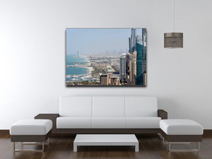 Dubai City Print - Canvas Art Rocks - 4
