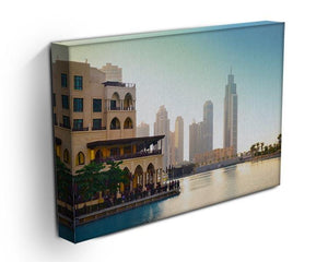 Dubai downtown at sunset Canvas Print or Poster - Canvas Art Rocks - 3