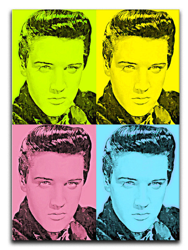 Elivs Presley Print - Canvas Art Rocks - 1